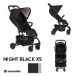 Carucior Buggy XS Night Black