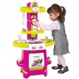 Bucatarie Smoby Masha and The Bear Cooky roz cu verde