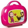 Bucatarie Smoby Masha and The Bear cu 17 accesorii