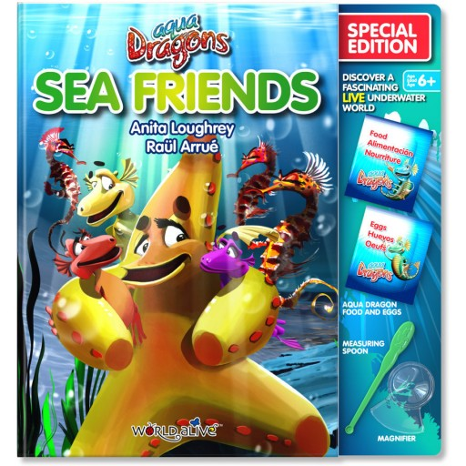 Set Reincarcare Aqua Dragons Sea Friends World Alive W4052
