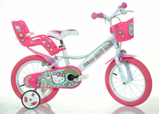 Bicicleta Hello Kitty 14   Dino Bikes 144HK