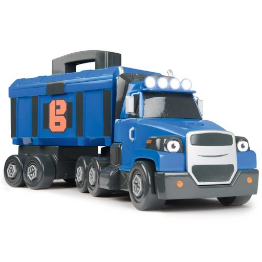 Camion Smoby Bob Constructorul Two Tons cu sunete si lumini