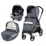 Carucior 3 in 1, Peg Perego, Book Plus 51 Titania Luxe Mirage