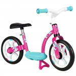 Bicicleta fara pedale Smoby Comfort pink