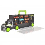 Camion Dickie Toys Carry and Store Transporter cu 4 masinute si accesorii