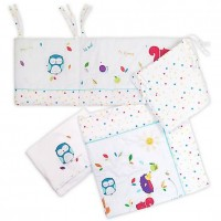 Set 3 Piese Patut Sleepy Forest Friends 35-140